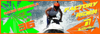 Nacho Guardiola Banner 3'x9' PWC Jetski Ride & Race Jet Ski Display