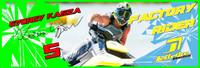 Gyorgy Kasza Banner 3'x9' PWC Jetski Ride & Race Jet Ski Display