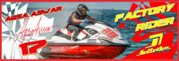 Aqsa Aswar Banner 3'x9' PWC Jetski Ride & Race Jet Ski Display