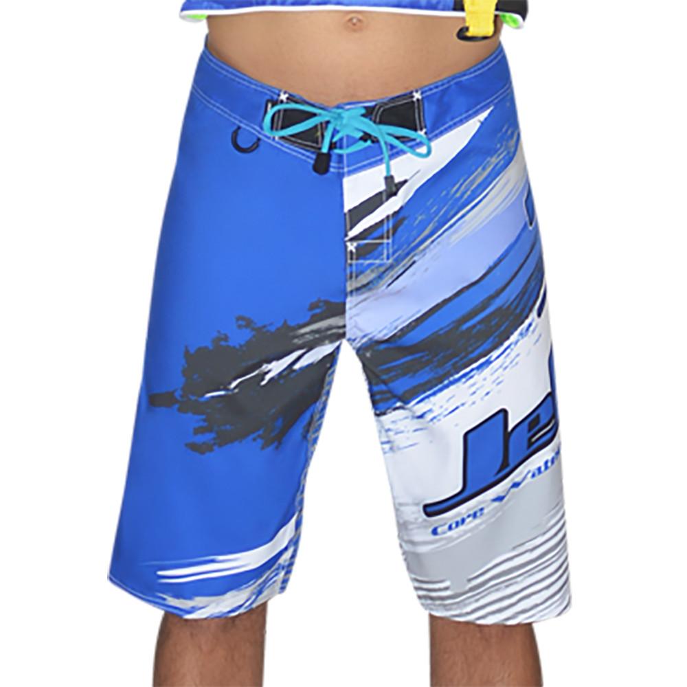 85488c7acb631 ... Ripped Men s Board Shorts - Blue PWC Jetski Ride   Race Apparel. Image 1