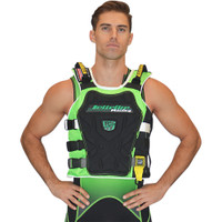 RS-17.2 Side Entry Race Vest Green PWC Jetski Ride & Race Gear