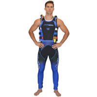 RS-17.2 Side Entry Race Vest Blue PWC Jetski Ride & Race Gear