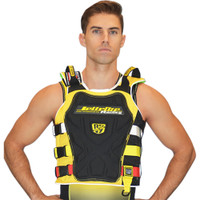 RS-17.2 Side Entry Race Vest Yellow PWC Jetski Ride & Race Jacket