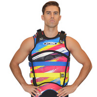 "Sentinel ""Scratch"" Vest Yellow Jet Ski Ride & Race Jetski Gear- New Lower Price"