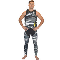 "Sentinel ""Scratch"" Vest Grey Jet Ski Ride & Race Jetski Gear"