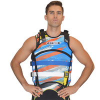 "Sentinel ""Scratch"" Vest Orange Jet Ski Ride & Race Jetski Gear"