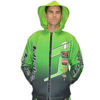 Tour Coat Classic Moto Tour Jacket Green PWC Jetski Ride & Race