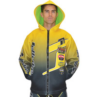 Tour Coat Classic Moto Tour Jacket Yellow PWC Jetski Ride & Race