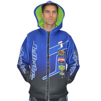 Tour Coat Classic Moto Tour Jacket Blue PWC Jetski Ride & Race