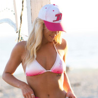 Icon  Hat White/Pink PWC Jetski Ride & Race Accessories