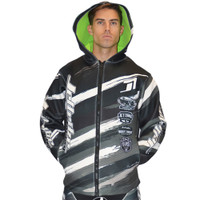 Tour Coat Scratch Moto Tour Grey PWC Jetski Ride & Race