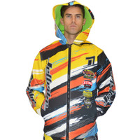 Tour Coat Scratch Moto Tour Orange Yellow PWC Jetski Ride & Race