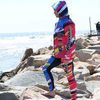 Tour Coat Scratch Moto Tour Jacket Yellow PWC Jetski Ride & Race