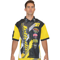 Men's Pit Shirt Ripped Yellow PWC Jetski Ride & Race Apparel