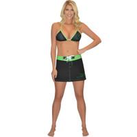 Swim Skirt Black/Green PWC Jetski Ride & Race Jet Ski Apparel