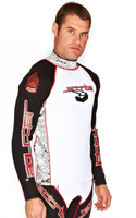 Jacket Only - Size Medium Blackstar Edition Red/Black/White Wetsuit Jacket