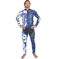 Shattered Wetsuit- Blue  PWC Jet Ski Ride & Race Freestyle