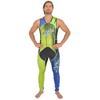 Spike Wetsuit-Blue/Green  PWC Jet Ski Ride & Race Freestyle