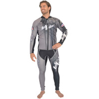 Spike Wetsuit Grey PWC Jet Ski Ride & Race Freestyle