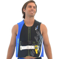 U.S.C.G. Ergo Blue Side-Entry Vest PWC Jetski Race