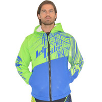 Tour Coat Spike - Blue / Green PWC Jetski Ride & Race Gear