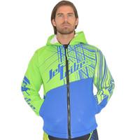 Tour Coat Spike - Blue / Green PWC Jetski Ride & Race Gear