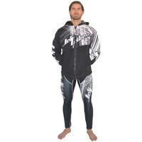 Tour Coat Spike Moto Tour Jacket Black/White PWC Jetski Ride & Race