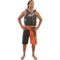 Spike Men's Board Shorts Orange PWC Jetski Ride & Race Apparel
