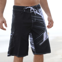 Spike Men's Board Shorts Black PWC Jetski Ride & Race Apparel