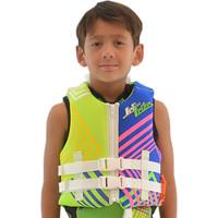 Child U.S.C.G. Young Heart Neoprene Vest - Green Jetski Ride & Race 30 - 50 lbs (14kg - 23kg)