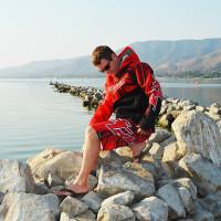Tour Coat Spike - Red PWC Jetski Ride & Race Gear PRE-ORDER
