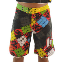 Men's Cross Hatch Shorts - Multi PWC Jetski Ride & Race Apparel