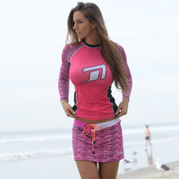 Ladies Cut Rashguard - Ildi (Size XL Only) PWC Jetski Ride & Race Apparel