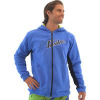 Men's Zip Up Hoodie - Blue / Black PWC Jetski Ride & Race Apparel
