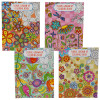Floral Grown Up Coloring Book (each)