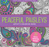 Peaceful Paisleys Artists Coloring Book