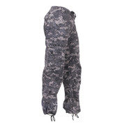 Women's Subdued Urban Digital Vintage Paratrooper Fatigues - View
