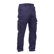 Rothco Deluxe Navy Blue EMT Uniform Pants - Side View