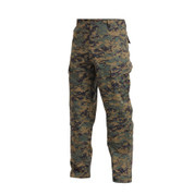 Woodland Digital Camo Uniform Pants - Side View