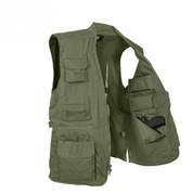 Plainclothes Concealed Carry Vest - Open Inside View