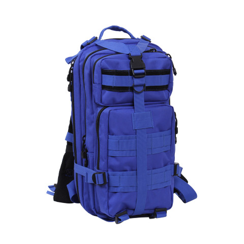 Blue Medium Transport Packs - Front View