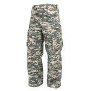 Vintage Kids Digital Camo Paratrooper Pants - 3D View