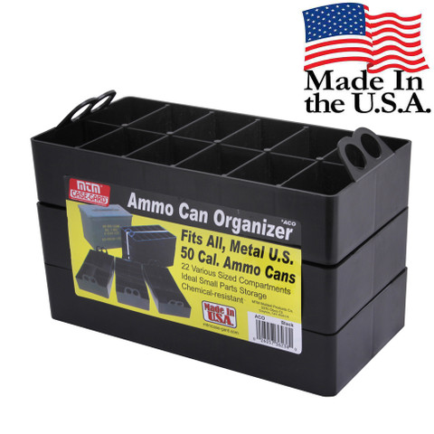 MTM Ammo Can Organizer - Stacked View