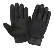 Black Lightweight All Purpose Duty Gloves - Full View