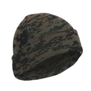 Woodland Digital Camo Watch Cap - Deluxe Style