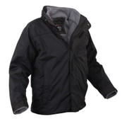 All Weather 3 In 1 Jacket w/ Fleece Liner - Side View