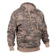 Army Digital Camo Pullover Hooded Sweatshirt - Left View