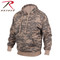 Army Digital Camo Pullover Hooded Sweatshirt - Rothco Brand