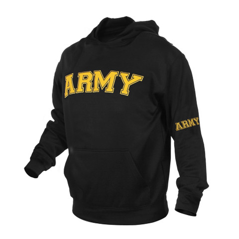 Army Embroidered Pullover Hoodies