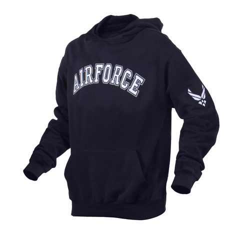 Air Force Embroidered Pullover Hoodies